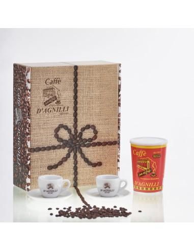 2 Tazas + 1 recipiente de Caffè...